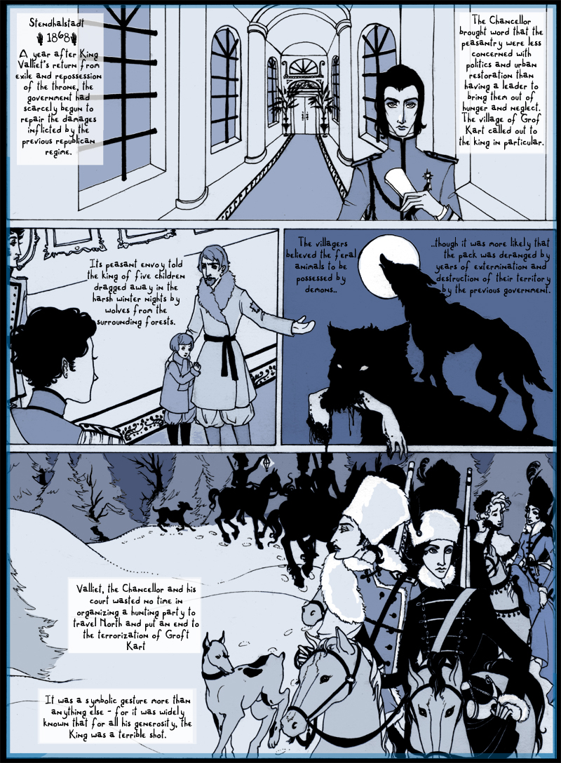 The Hunt - Page 1